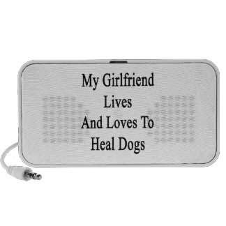 My Girlfriend Lives And Loves To Heal Dogs PC Speakers