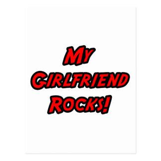 My Girlfriend Rocks Postcard