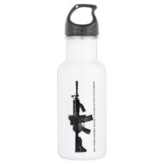 My Girlfriend Says I Should Accessorise AR15 532 Ml Water Bottle
