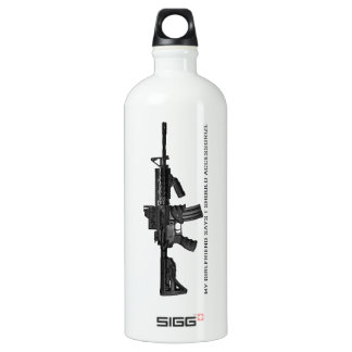 My Girlfriend Says I Should Accessorise AR15 SIGG Traveller 1.0L Water Bottle