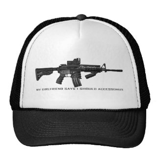 My Girlfriend Says I Should Accessorize AR15 Mesh Hats