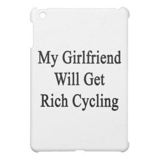 My Girlfriend Will Get Rich Cycling iPad Mini Covers
