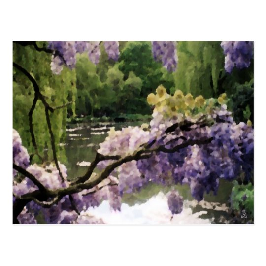 My Giverny Spring Postcard