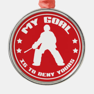 My Goal, Field Hockey (red) Ornament