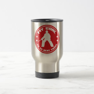 My Goal, Field Hockey (red) Travel Mug
