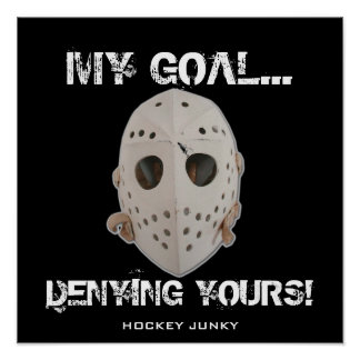 MY GOAL POSTER