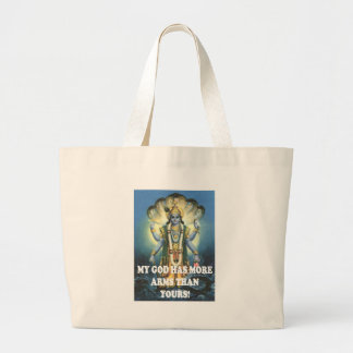 my god tote bags