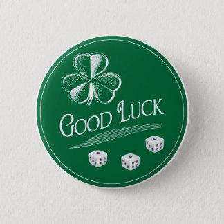 My Good Luck Bunco Button