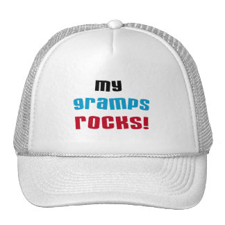 My Gramps Rocks T-shirts and Gifts Trucker Hats