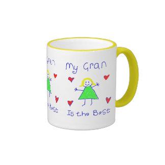 My Gran is the Best Ringer Mug