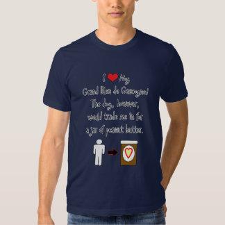 My Grand Bleu de Gascogne Loves Peanut Butter Tshirt