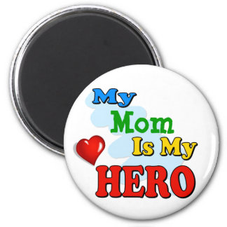 My Grandad Is My Hero – Insert your own name 6 Cm Round Magnet