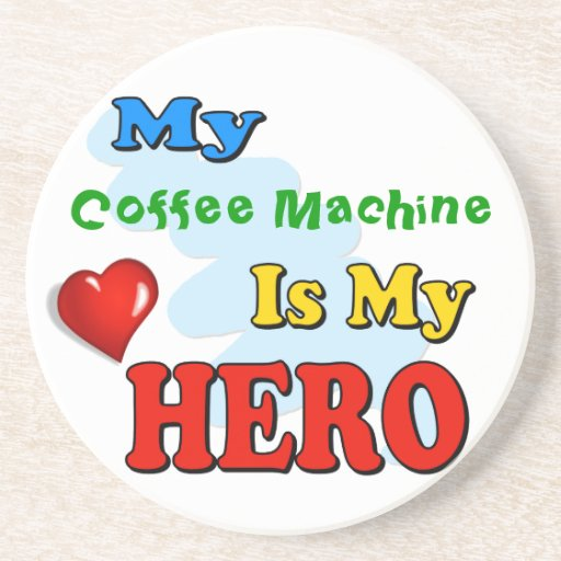 My Grandad Is My Hero – Insert your own name Beverage Coasters