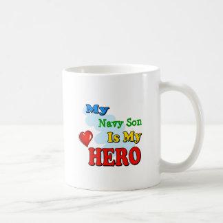 My Grandad Is My Hero – Insert your own name Basic White Mug