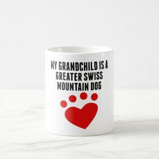 My Grandchild Is A Greater Swiss Mountain Dog Mug