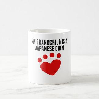 My Grandchild Is A Japanese Chin Mugs