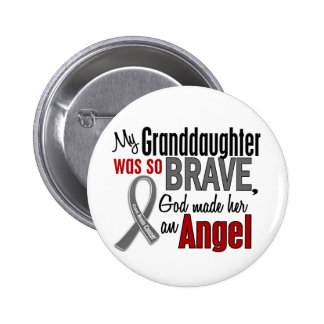 My Granddaughter Is An Angel 1 Brain Cancer 6 Cm Round Badge
