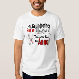 My Grandfather Is An Angel Lung Cancer T-shirt