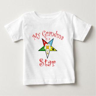 My Grandma is a Star Baby T-Shirt