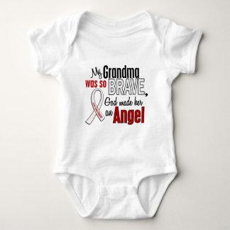 My Grandma Is An Angel Lung Cancer Baby Bodysuit