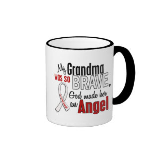 My Grandma Is An Angel Lung Cancer Mug
