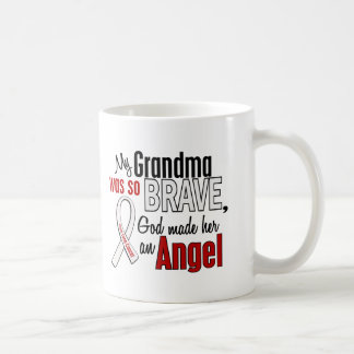 My Grandma Is An Angel Lung Cancer Coffee Mug
