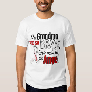My Grandma Is An Angel Lung Cancer T Shirts