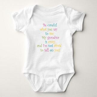 """My Grandma is Crazy"" Infant T Shirt"