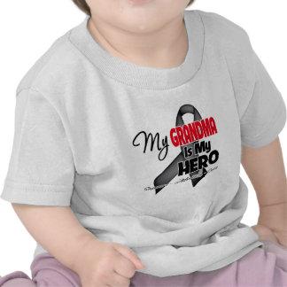 My Grandma is My Hero - Skin Cancer T Shirt