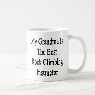 My Grandma Is The Best Rock Climbing Instructor Basic White Mug