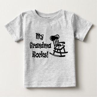 My Grandma Rocks Baby T-Shirt