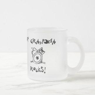 My Grandma Rocks Drums Mug