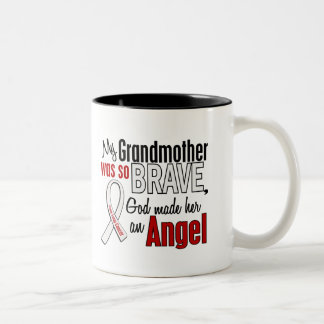 My Grandmother Is An Angel Lung Cancer Coffee Mugs