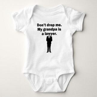 My Grandpa Is A Lawyer Baby Bodysuit