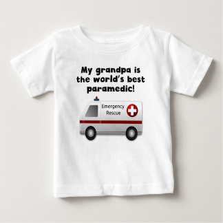 My Grandpa Is The Word's Best Paramedic Tshirt