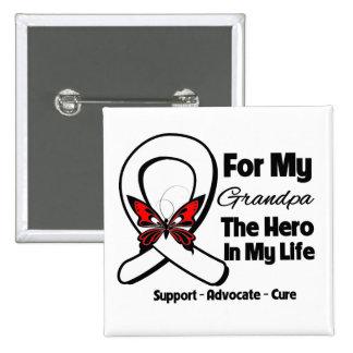 My Grandpa - Lung Cancer Awareness Pin