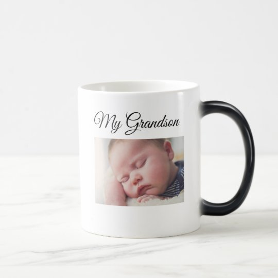 My Grandson Personalised Photo Coffee Mug