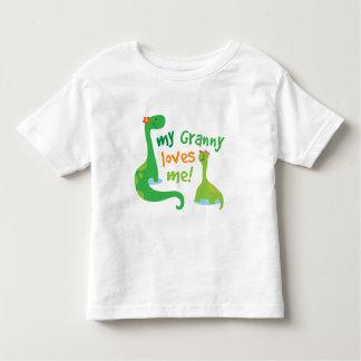 My Granny Loves Me Dinosaur Toddler T-Shirt