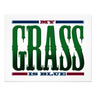 My Grass Is Blue Announcements