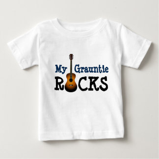 """My Grauntie Rocks!"" Baby T-Shirt"