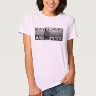 My Great Aunt was a Mayflower Descendant Tees