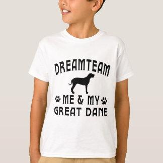 My Great Dane Dog Tee Shirt