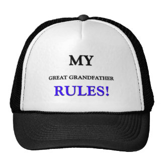 My Great Grandfather Rules Hat