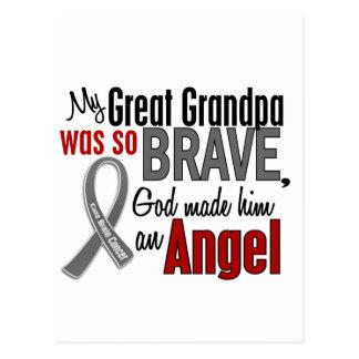 My Great Grandpa Is An Angel 1 Brain Cancer Postcard