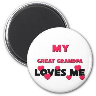 My Great Grandpa Loves Me Fridge Magnet