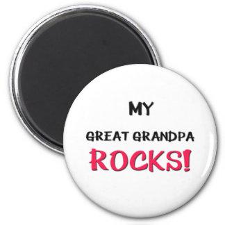 My Great Grandpa Rocks Fridge Magnet