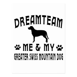 My Greater Swiss Mountain Dog Postcard
