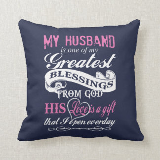 My Greatest Blessings From God Cushion