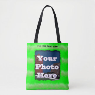 My Green Picture frame Tote Bag