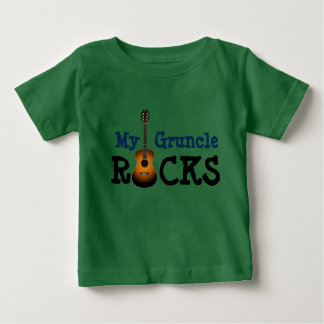 """My Gruncle Rocks!"" Baby T-Shirt"